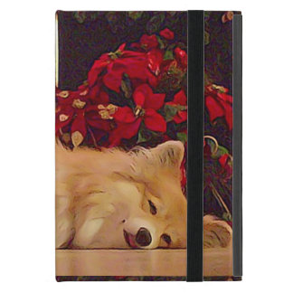 Sleepy Pembroke Welsh Corgi iPad Mini Case