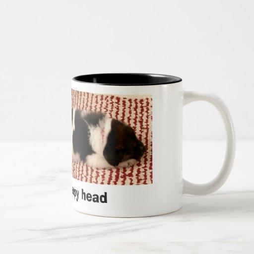 Sleepy Puppy Mug