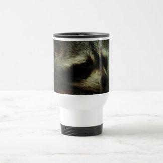 Sleepy Raccoon - Wildlife Photography Animals Coffee Mug