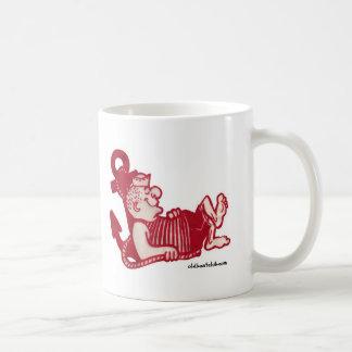 Sleepy Sailor Ceramic Mug