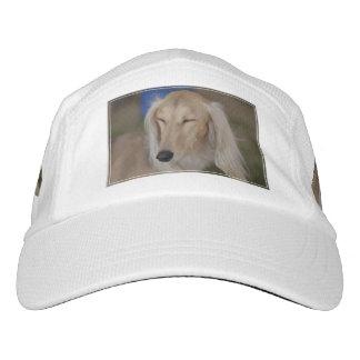 Sleepy Saluki Dog Headsweats Hat