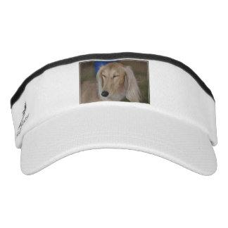 Sleepy Saluki Dog Headsweats Visor