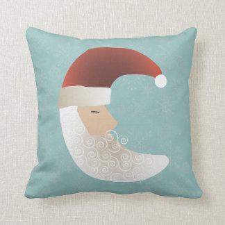 Sleepy Santa Half Moon Christmas Bendel Pillow