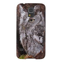 Sleepy Screech Owl Case For Galaxy S5