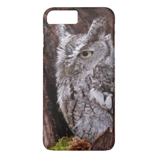 Sleepy Screech Owl iPhone 7 Plus Case