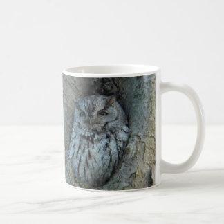 Sleepy Screech Owl Mug