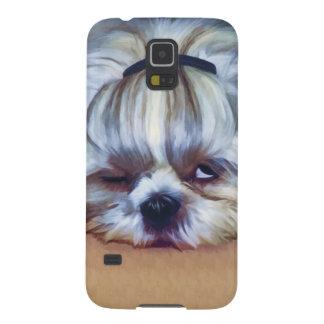 Sleepy Shih Tzu Dog Galaxy S5 Cover