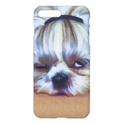 iPhone 7 Plus Case with Shih Tzu Phone Cases design