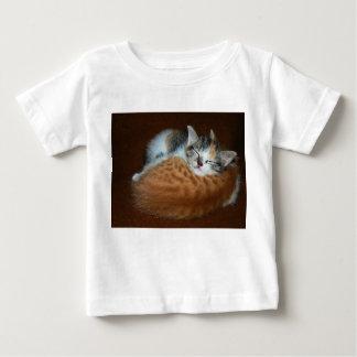 Sleepy soft kittens baby T-Shirt