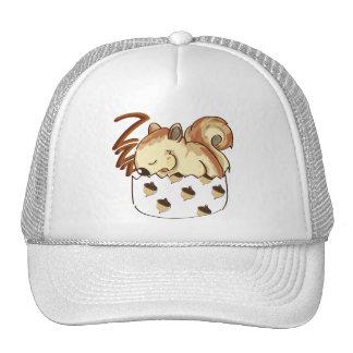 Sleepy Squirrel Trucker Hat