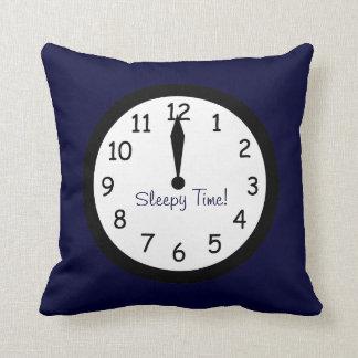 Sleepy Time Clock Pillow