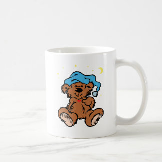 Sleepy Time Teddy Bear Coffee Mug