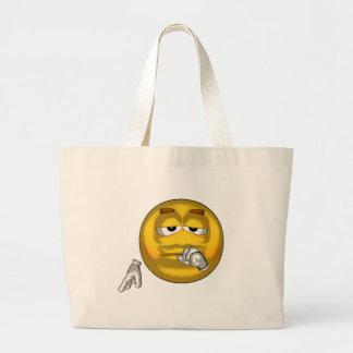 Sleepy - toon large tote bag