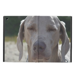 iPad Air Powis Case with Weimaraner Phone Cases design