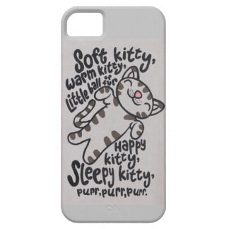 SleepyKittySongCase Funda Para iPhone 5 Barely There