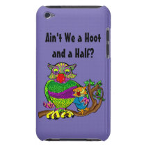 Sleepytime Owl and Baby iPod Case-Mate Case