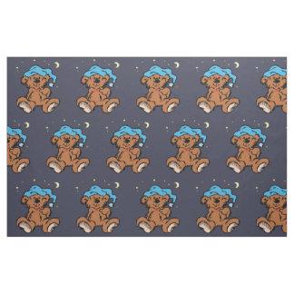 Sleepytime Teddy Bear Fabric