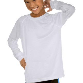 Sleev largo de los niños de las danzas camisetas