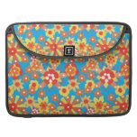 Sleeve, 15-inch MacBook Pro, Ditsy Orange Flowers MacBook Pro Sleeves