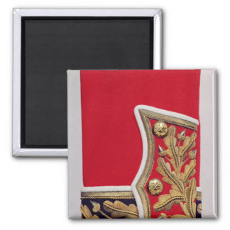 Sleeve detail of a British Army Uniform Magnet