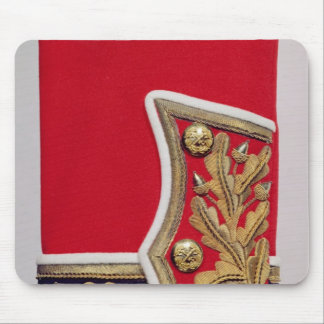 Sleeve detail of a British Army Uniform Mouse Pad