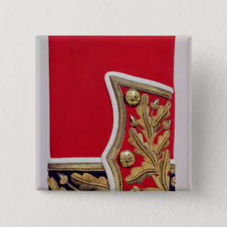 Sleeve detail of a British Army Uniform Pinback Button