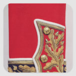 Sleeve detail of a British Army Uniform Square Sticker