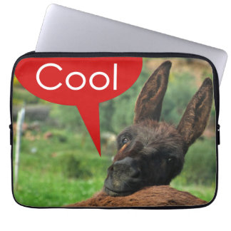Sleeve: Happy Donkey - Keep it Cool Computer Sleeves