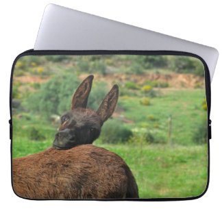 Sleeve: Happy Donkey Laptop Computer Sleeve