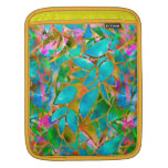 Sleeve iPad Floral Abstract Stained Glass Sleeves For iPads