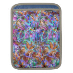 Sleeve iPad Floral Abstract Stained Glass Sleeve For iPads