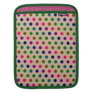 Sleeve iPad Hot Polka Dots iPad Sleeve