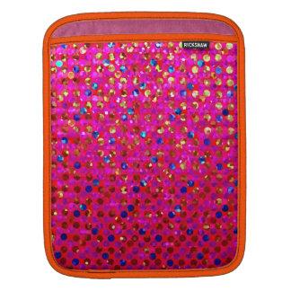 Sleeve iPad Polka Dot Sparkley Jewels iPad Sleeve