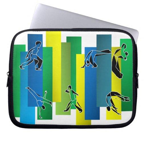 sleeve laptop capoeira martial arts ginga axe computer sleeve