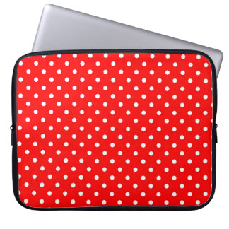 Sleeve Laptop Hot Red Polka Dot Laptop Computer Sleeves