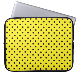 Sleeve Laptop Hot Yellow Polka Dot Computer Sleeves