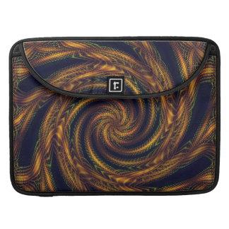 Sleeve MacBook Fractal Spiral Vortex