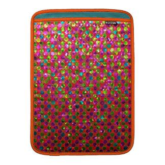 Sleeve MacBook Polka Dot Sparkley Jewels MacBook Sleeves