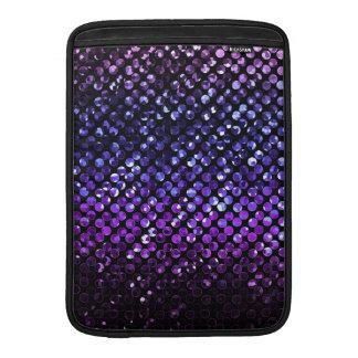 Sleeve MacBook Purple Crystal Bling Strass