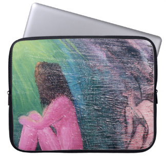 Sleeve of perceived loneliness laptop computer sleeve