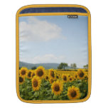 Sleeve with sunflowers sleeves for iPads