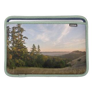 Sleeve with Sunset, Santa Cruz Mtns, California MacBook Air Sleeve