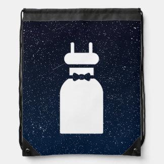 Sleeveless Dresses Minimal Cinch Bag