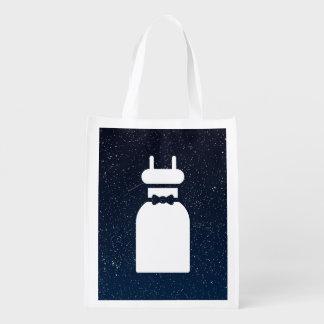 Sleeveless Dresses Minimal Grocery Bag