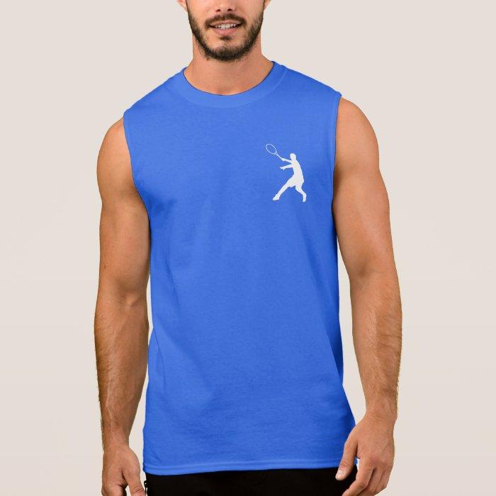 Sleeveless tennis top for men