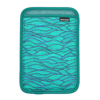 Sleeves with Abstract waves texture. iPad Mini Sleeves