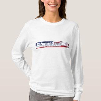 SleeveTshirt largo de la mujer del corral Playera