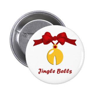 Sleigh Bell Jingle Bells Christmas Buton Button