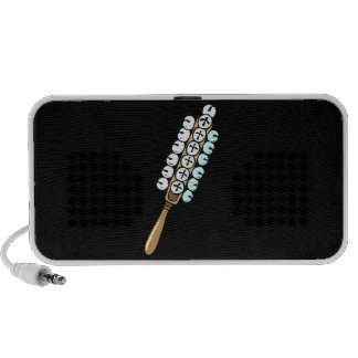 Sleigh Bells, stick kind, percussion instrument gr iPod Speakers