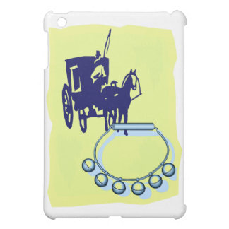 Sleigh Bells With Amish Buggy Musical Graphic iPad Mini Case